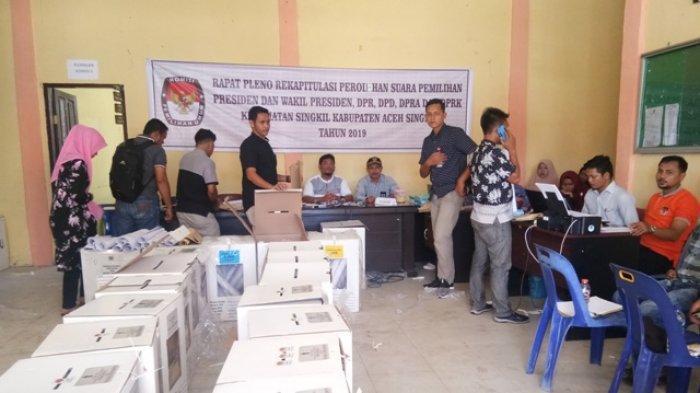 Andri Liska Pimpin Perolehan Suara Sementara DPD RI di Kabupaten Aceh Singkil