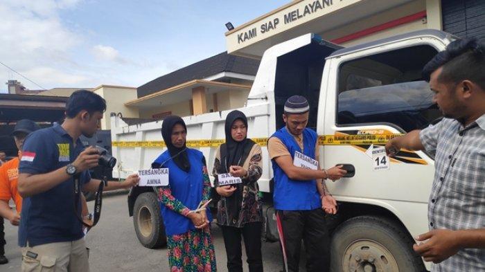 Polisi Rekonstruksi 44 Adegan Kasus Pembunuhan Ridwansyah, Pelakunya Istri, Anak dan Menantu Korban