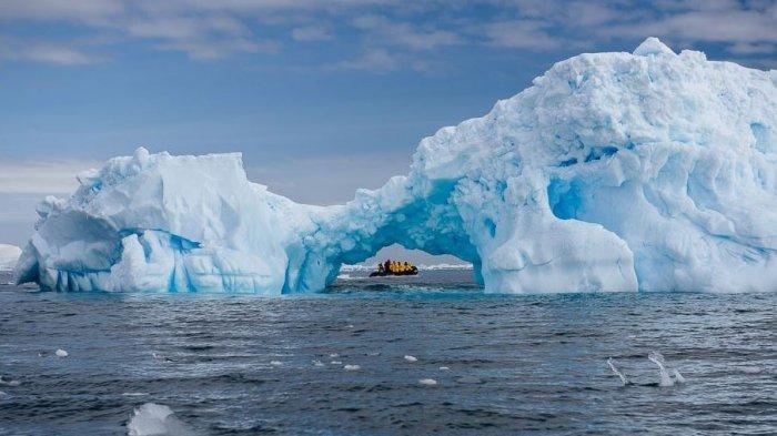 Rekor Baru Suhu Panas di Antartika, Ilmuwan Sebut Sesuatu yang Berbeda  Sedang Terjadi di Benua Es - Serambi Indonesia