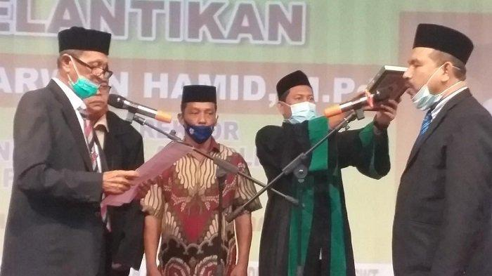 Ketua Yayasan Lantik Rektor Umuslim