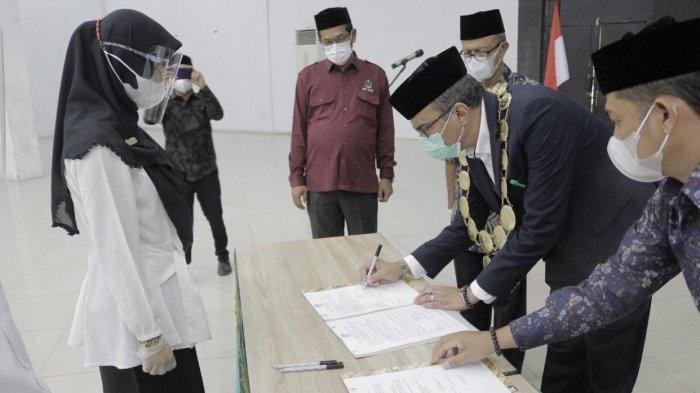 Rektor Institut Seni Budaya Indonesia Aceh Lantik 29 ASN Jabatan Fungsional