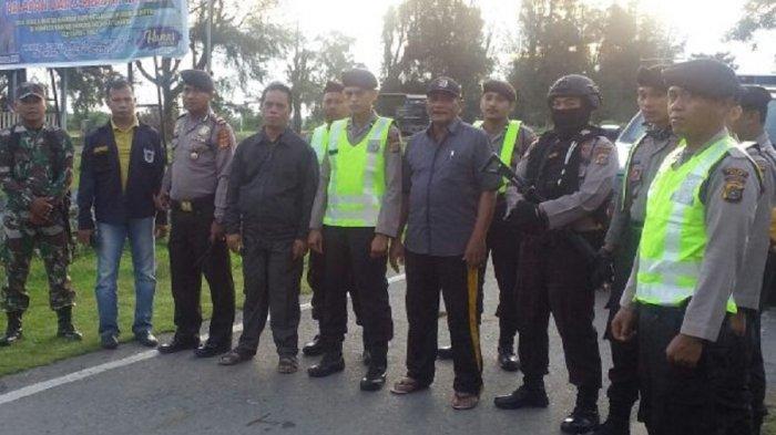 Tim Gabungan Polres Pidie Dibantu TNI Bubarkan Balapan Liar di Kampus Unigha, 8 Sepmor Diamankan
