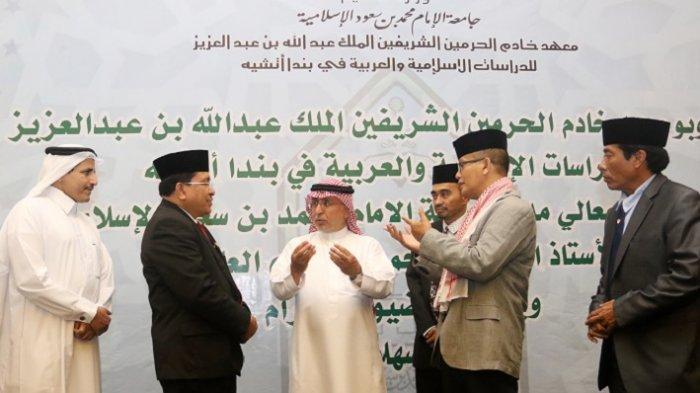 Rektor Universitas Islam Imam Muhammad bin Saud, Arab Saudi Kunjungi Aceh