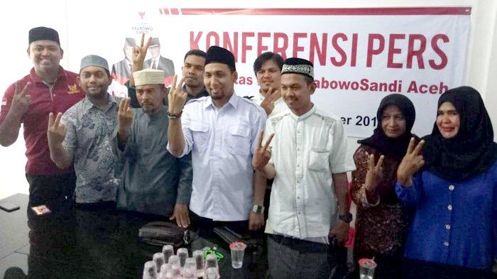 Komunitas Prabowo-Sandi Dibentuk di Aceh, Deklarasi Tanggal 30 September di Lampineung