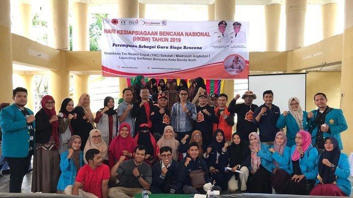 Puluhan Siswa dari Empat Sekolah Dilantik Sebagai Relawan Tim Reaksi Cepat