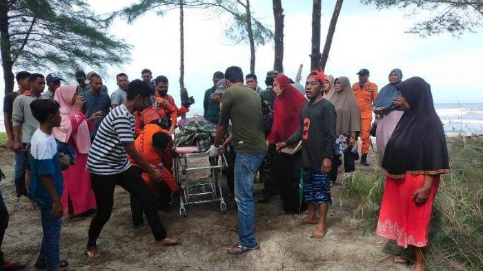 Remaja Lam Asan Darussalam yang Hilang Terseret Arus di Pantai Penyu Leupung Ditemukan Meninggal