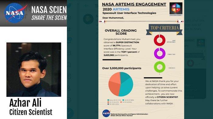 Remaja Ini Menangkan Tantangan NASA, Rancang Pakaian Antartika untuk Misi Artemis2024 ke Planet Mars