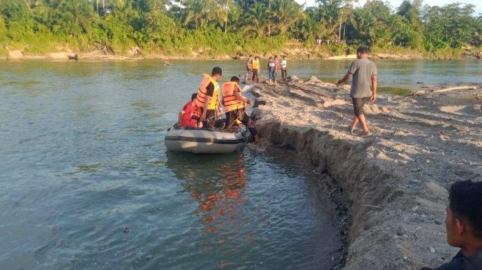 Remaja Tenggelam di Krueng Tripa Nagan Raya belum Ditemukan, Tim Gabungan Lanjutkan Pencarian