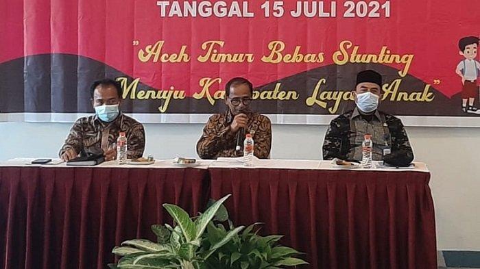 Pemkab Aceh Timur Gelar Rembuk Penanganan Stunting