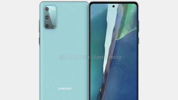 Tampilan Samsung Galaxy S20 Versi Murah, Cek Spesifikasinya