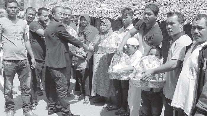 Repsus Serahkan Santunan dan Paket Ramadhan kepada 318 Warga