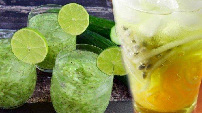 Resep Es Timun Serut Selasih hingga Es Blewah Markisa Paduan Sempurna untuk Minuman Berbuka Puasa
