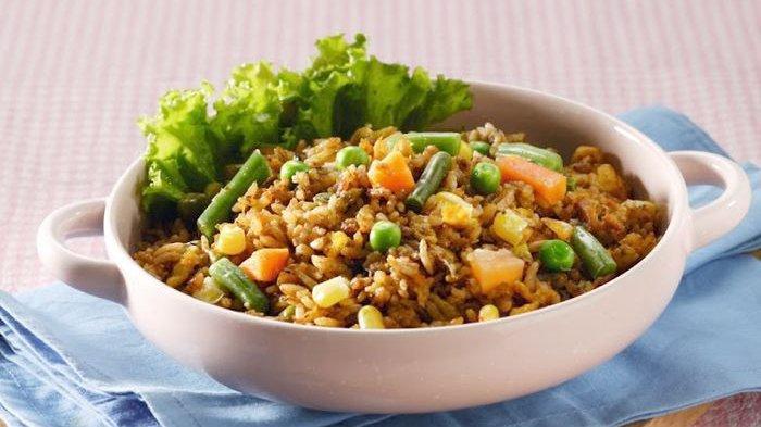 Resep Nasi Goreng Sarden, Kreasi Nasi Goreng Berbeda yang Nikmat dan Praktis Untuk Menu Sahur