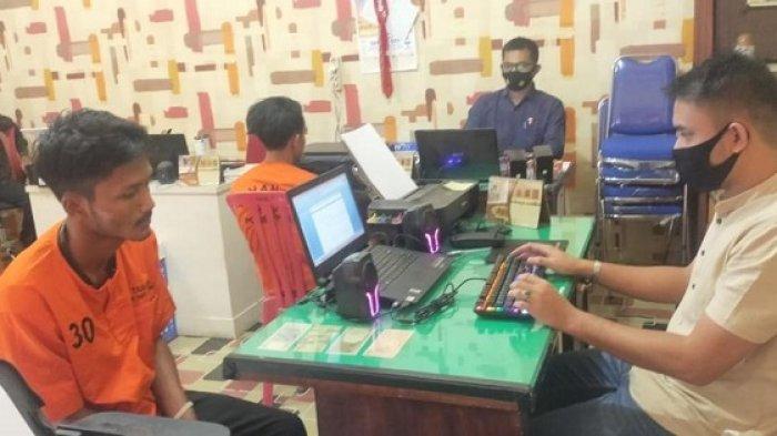 Butuh Uang Beli Sabu, Dua Mahasiswa Nekat Jambret, Ditangkap Polisi di Kafe di Sigli