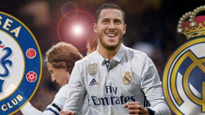 Eden Hazard Baru Cetak Dua Gol, Begini Tanggapan Zinedine Zidane