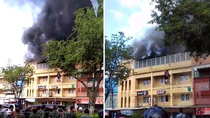 Breaking News Hotel 61 Dan Restoran Aw Banda Aceh Terbakar Asap Masih Membumbung Serambi Indonesia
