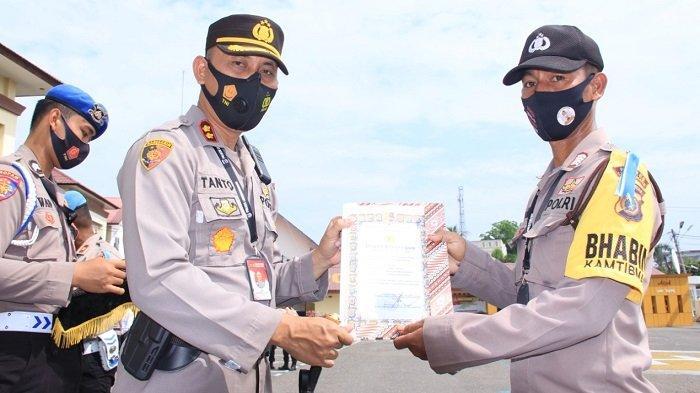 Raih Prestasi Kerja, 45 Personel Polres Lhokseumawe Terima Penghargaan