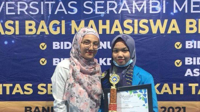 Riadhil Jinan, Mahasiswi USM Aceh Melaju ke Ajang Pemilihan Mahasiswa Berprestasi Tingkat Nasional