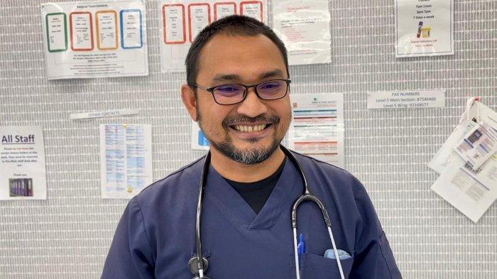 Ridwan Amin, penanggungjawab Umum Jamboe Charity Australia, pria asal Alue Awee Lhokseumawe yang bekerja sebagai perawat di salah satu rumah sakit ternama di Melbourne, Australia.