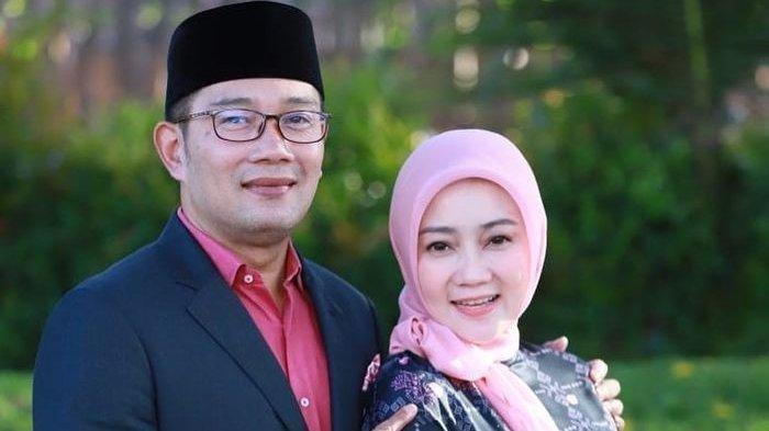 Gubernur Jawa Barat Ridwan Kamil Kabarkan Istrinya positifCovid-19