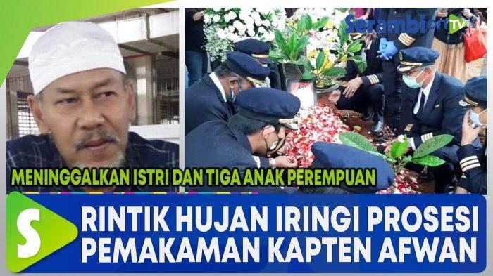 Pramugari Sriwijaya Air di Pemakaman Captain Afwan: Almarhum Sosok yang Selalu Ngingetin Sholat