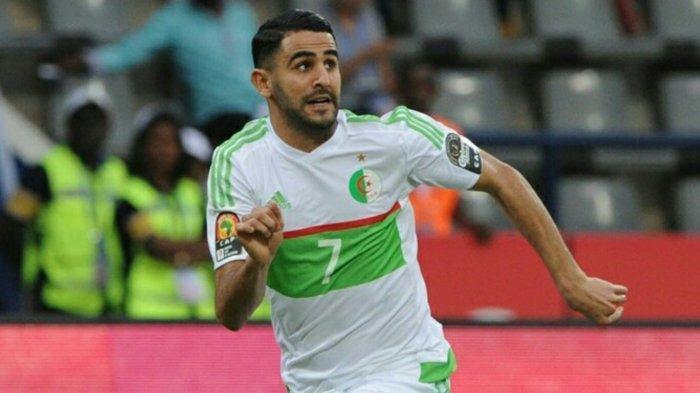 Kontroversial, Riyad Mahrez Tak Mau Salami Perdana Menteri Mesir saat Penerimaan Piala Afrika 2019