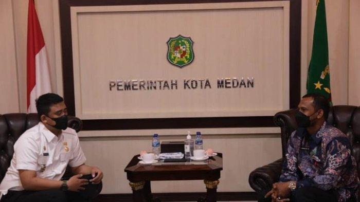 Bupati Rocky Sharing Potensi Aceh Timur dengan Wali Kota Medan Bobby Nasution