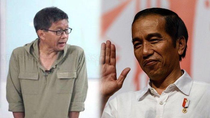 Rocky Gerung Soroti Keluarga Jokowi Maju ke Pilkada 2020, Sebut Istana Buta Demokrasi