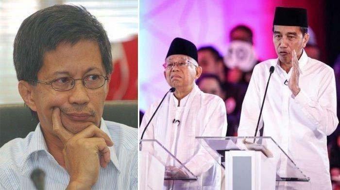 100 Hari Jokowi-Maruf Amin Kerja, Rocky Gerung Kasih Nilai 9: Alasannya Bikin Said Didu Tertawa