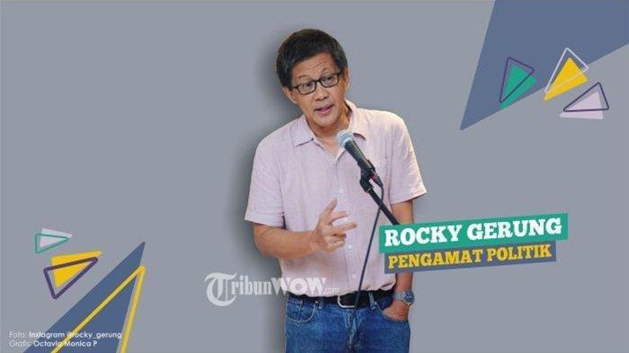 Rocky Gerung Dapat Dukungan dari Tokoh Berseberangan dengannya hingga Samakan dengan Ahok