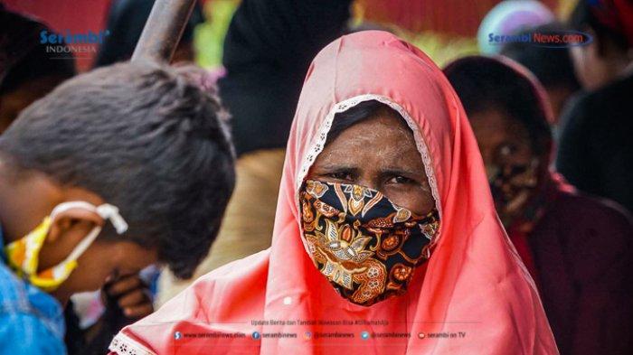 FOTO - 296 Warga Etnis Rohingya Jalani Rapid Tes di Penampungan Sementara BLK Lhokseumawe - rohingya-di-lhokseumawe-rapid-tes-5.jpg