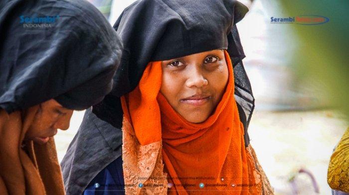 FOTO - 296 Warga Etnis Rohingya Jalani Rapid Tes di Penampungan Sementara BLK Lhokseumawe - rohingya-di-lhokseumawe-rapid-tes-6.jpg
