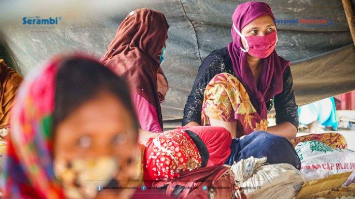 FOTO - 296 Warga Etnis Rohingya Jalani Rapid Tes di Penampungan Sementara BLK Lhokseumawe - rohingya-di-lhokseumawe-rapid-tes-8.jpg