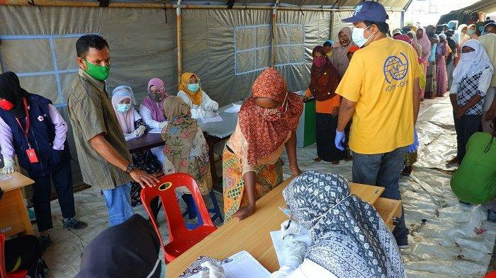 Pengungsi Rohingya Mengeluh Gatal-gatal, Sakit Lambung hingga Sesak, Diduga Karena Hal Ini