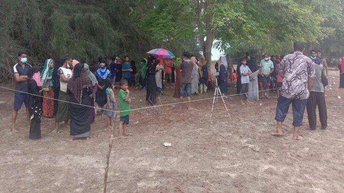 Camat Simpang Ulim : Penanganan Rohingya sedang Menunggu UNHCR dari Medan