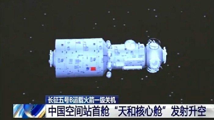 China Meluncurkan Roket Kargo, Memasok Kebutuhan Astronot di Stasiun Luar Angkasa