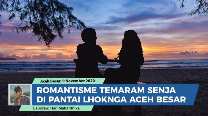 Pantai di kawasan Lhoknga Kabupaten Aceh Besar, Provinsi Aceh memiliki berbagai keindahan yang tidak bisa dijelaskan dengan kata-kata.