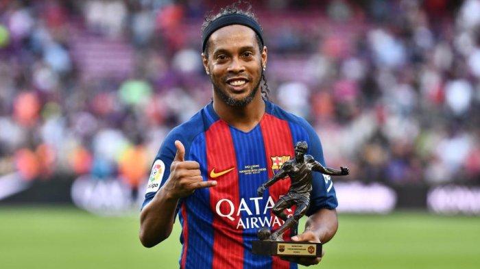 Ronaldinho Positif Covid-19, Saat Ini Sedang Jalani Isolasi Mandiri