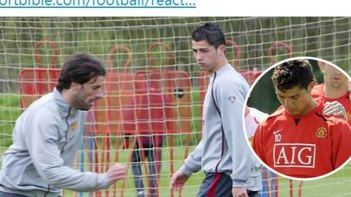 Cristiano Ronaldo Sempat Menangis saat Membela Man United, Ini Kalimat yang Bikin Hatinya Bersedih