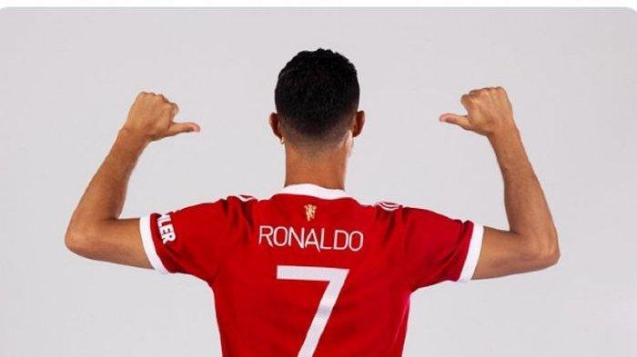 Kembali ke Stadion Old Trafford, Cristiano Ronaldo Pakai Nomor 7 di Manchester United