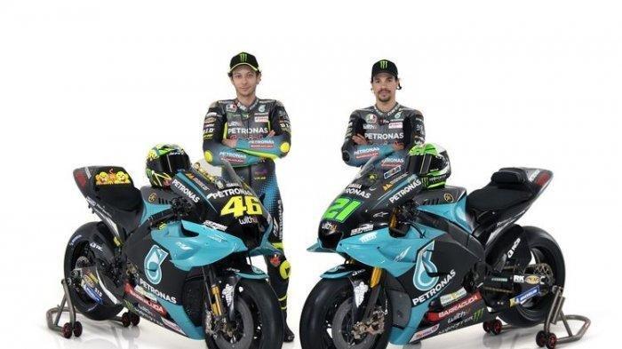 Hasil FP1 MotoGP Qatar 2021 -  Valentino Rossi Posisi 9, Franco MorbidelliTercepat