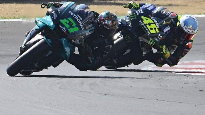 Hasil FP 4 MotoGP Aragon 2020 - Franco Morbidelli Posisi 1, Geser Alex Marquez di Menit Akhir
