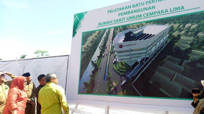 Rumah Sakit Umum Cempaka Lima Dilengkapi Solar Panel Serambi Indonesia