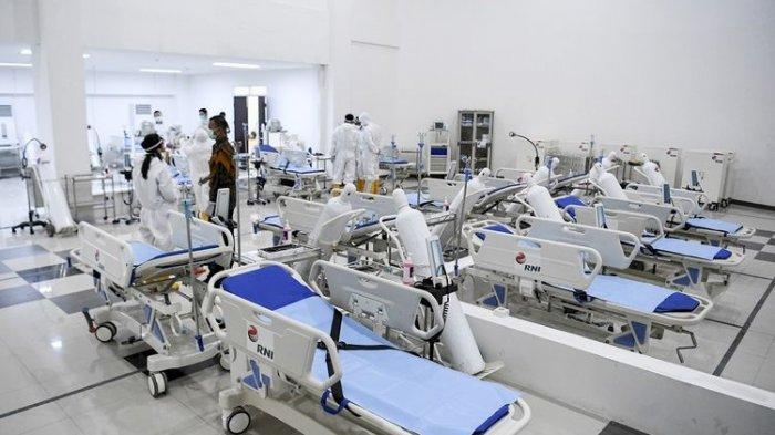 215 Pasien Dirawat di Rumah Sakit Darurat Wisma Atlet