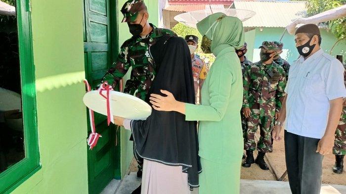 Kodim Aceh Utara Bantu Bangun Rumah Mantan Anggota