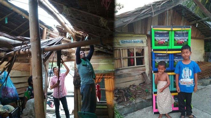 Kisah Sedih Relawan Pidie Mengajar, Sibuk Bantu Duafa Rumah Sendiri Bocor