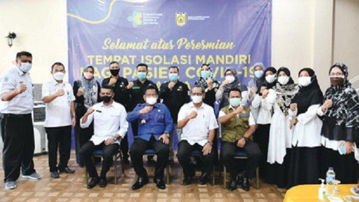 Wali Kota Launching Rumah Isolasi Mandiri