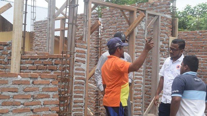 Hampir Setahun, Pembangunan Rumah Korban Gempa Pijay belum Selesai