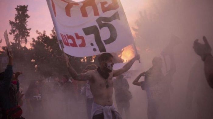 Kediaman Resmi Benjamin Netanyahu Didemo, Dituntut Mengundurkan Diri
