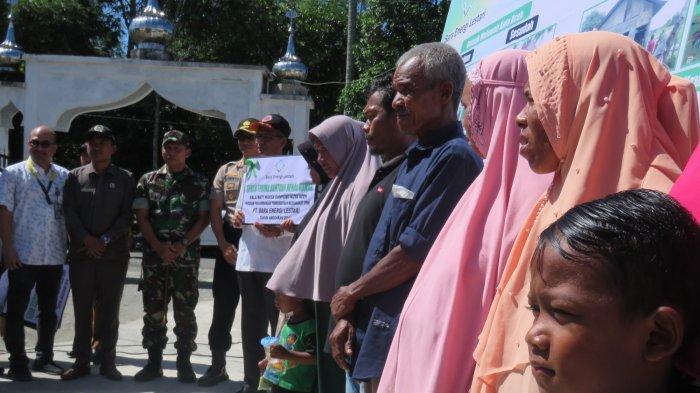 Enam Rumah Warga Miskin di Nagan Rayab Sudah Selesai Direhab